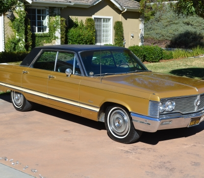 "1968 Imperial Crown Sedan, CA ""Black Plate"", Rust free!"