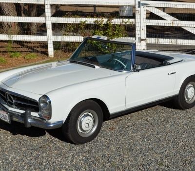 1965 Mercedes 230SL Roadster, California Car, Rust Free!
