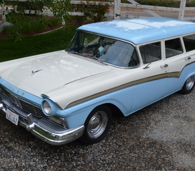 1957 Ford Country Sedan, New Engine, Tour Car!