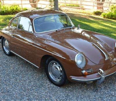 "1964 Porsche 356C, CA ""Blue Plate"" 97k Miles!"