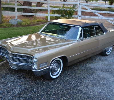 1966 Cadillac DeVille Convertible, Gorgeous Survivor!!