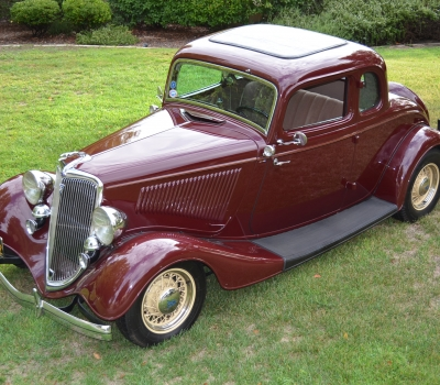 1934 Ford Coupe Custom, All Henry Ford Steel, Fantastic!