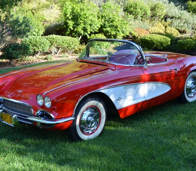 1961 Corvette, Dual Quads, Matching Numbers, Restored, Gorgeous!