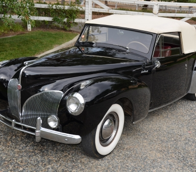 1941 Lincoln Continental Cabriolet, Three Owners, Survivor!