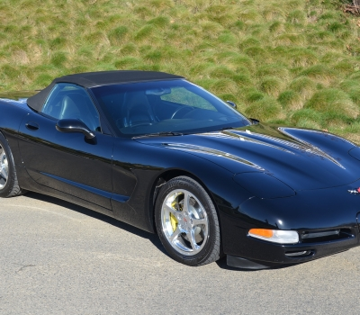 2001 Chevy Corvette Convertible, CA Car, Triple Black, Gorgeous, 43k Miles