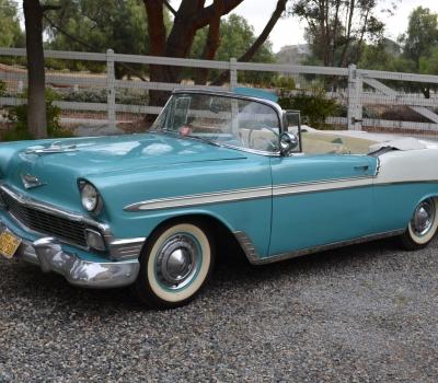 1956 Chevy Bel Air Convertible, Survivor! Fantasitic!