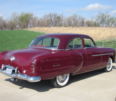1951 Packard, Deluxe 200 Sedan, Two Families Since New, 58k Orig Miles!!