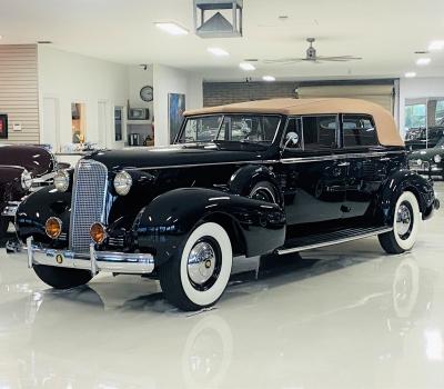 1937 Cadillac V12 Convertible Sedan with Division