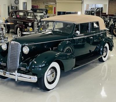 1937 Cadillac Series 75 V8 Convertible Sedan