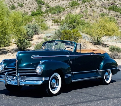 1942 Hudson Super Six Deluxe Convertible Coupe