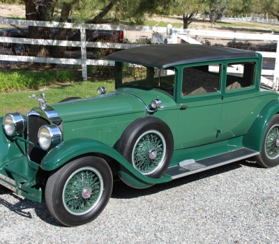 1927 Packard 443 Club Coupe Ready for Tour or Show!