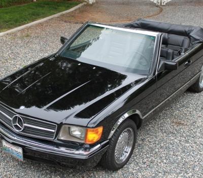 1985 Mercedes 500SEC Cabriolet, CA Car, 1 of 10!