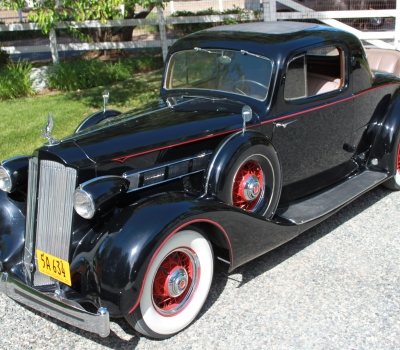 1936 Packard Eight Rumbleseat Coupe, Ca Car, Rare and gorgeous!