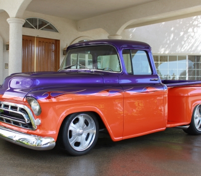 1955 Chevy 1/2 Ton Custom Pick-up, Show Winner!!