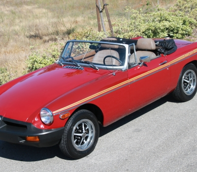 1979 MGB, 82k Miles, Two Owners!