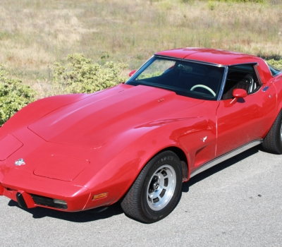 1978 Corvette 25th Anniv Edition, Ca Car, L-82!