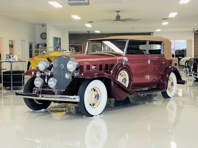 1932 Cadillac 355-B All-Weather Phaeton by Fisher