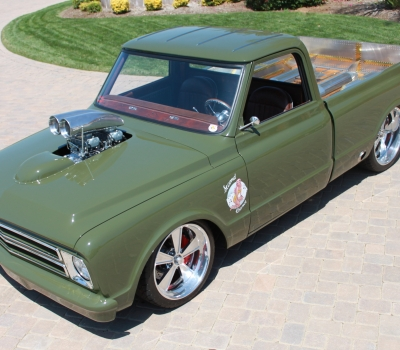 1967 Chevy C-10 Custom Pick-up, Cover Car, Multiple Show Winner!!