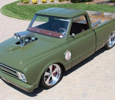 1967 Chevy C-10 Custom Pick-up, Multiple Show Winner!!