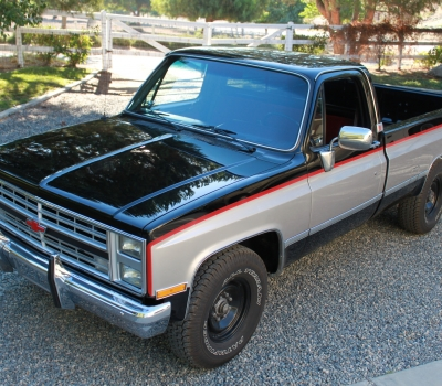 1986 Chevy 3/4 Ton Truck, Restored Calif., 56k miles!