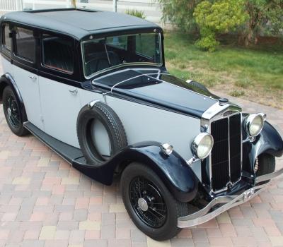 1932 Lanchester Type 15/18 Saloon, Rare, Gorgeous!