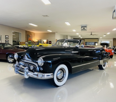 1947 Buick Roadmaster Series 70 Convertible Coupe