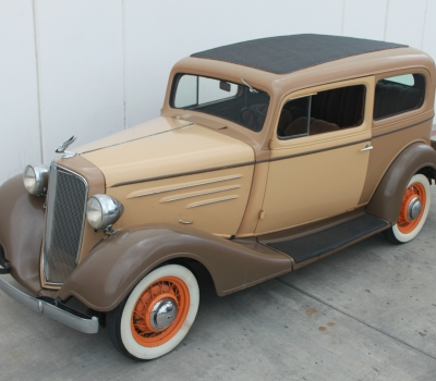1934 Chevy Master Deluxe 2 Door Sedan, Rare! Rust Free Project Car!