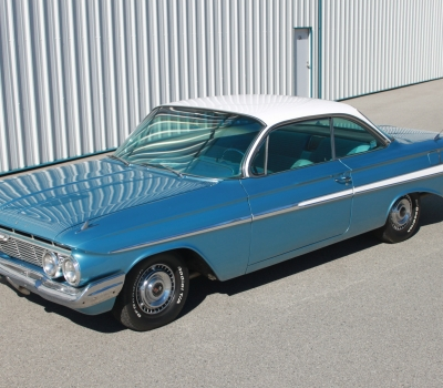1961 Chevy Impala Bubbletop, 4-Speed, Restored!!