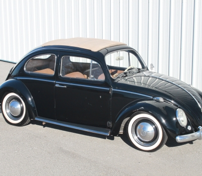 1961 VW Beetle, Factory Sunroof, Fresh Rebuild!