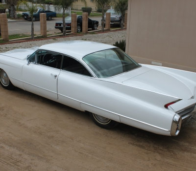 1960 Cadillac Series 62 Coupe, CA, 70k Miles, Four Owners!