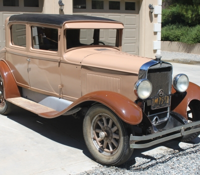 1929 Peerless Six-81, Doctor's Coupe, Barn Find!!!