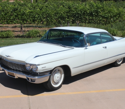 1960 Cadillac Series 62 Coupe, Last Owner 48 Years!