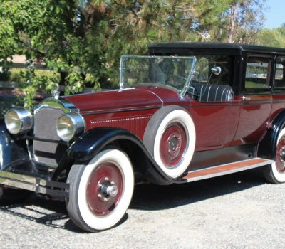 1926 Packard Custom Eight, Model 2-43, RARE!