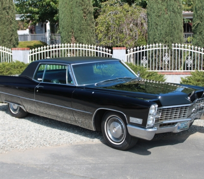 1967 Cadillac Calais Coupe, AZ-CA Car, Triple Black,69k Miles!!
