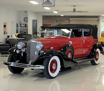 1933 Cadillac 370C V12 All-Weather Phaeton