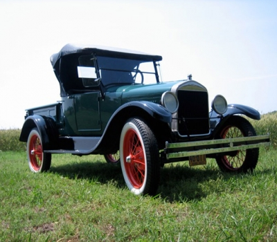 1926 Ford Model T Roadster Pick-up, Fully Restored!