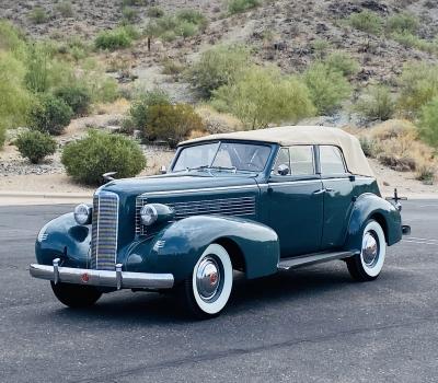 1937 LaSalle Convertible Sedan