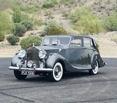1953 Rolls-Royce Silver Wraith Hooper Teviot III Limousine