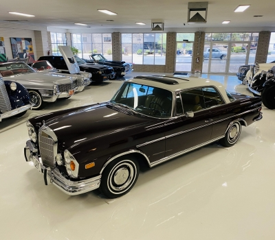 1966 Mercedes-Benz 250SE, Sunroof Coupe