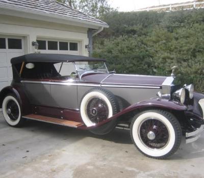 1928 Rolls-Royce Phantom I Ascot Tourer, Beautiful Restoration, Award Winner