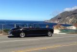 Pebble Beach Concours Tour d'Elegance in a Rolls-Royce
