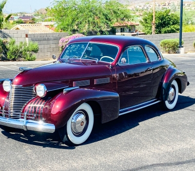 1940 Cadillac Series 62 Club Coupe