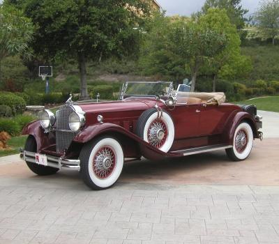 1930 Packard Custom Eight 745 Roadster